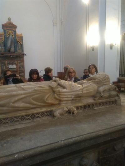 Sepulcro de la Reina María de Molina